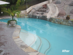 Clean Swimming Pool After